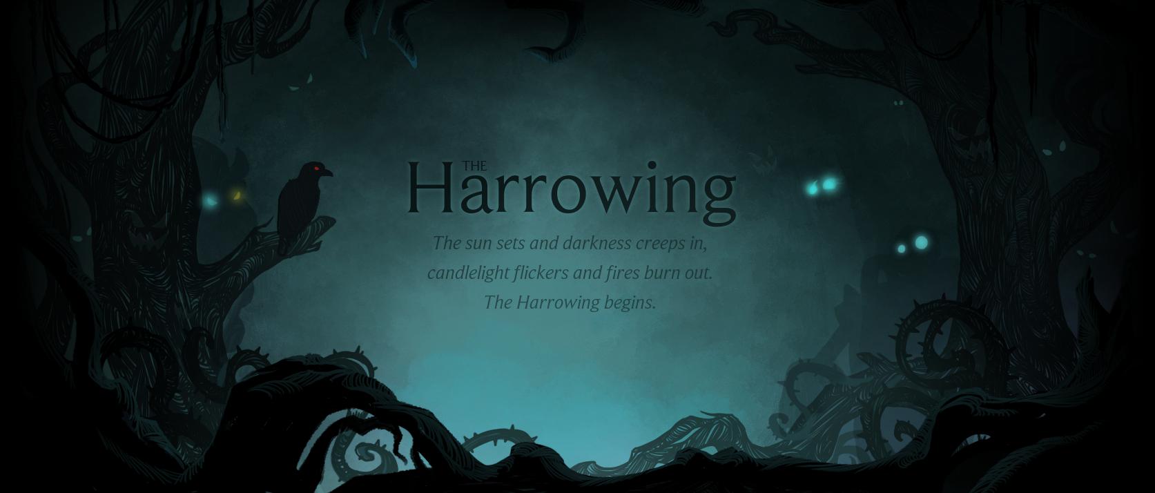 Elkezdődött a Harrowing