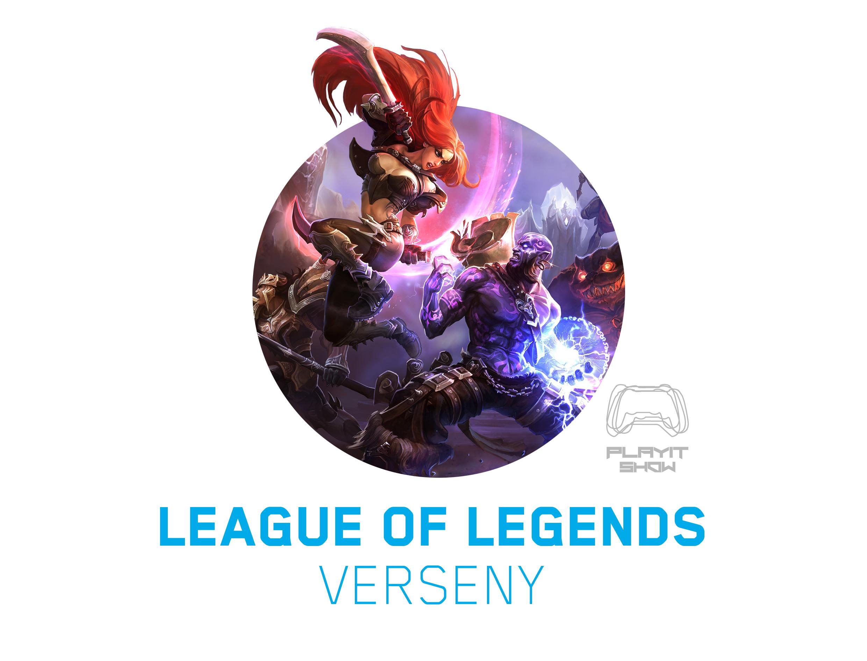 League of Legends-verseny a PlayIT-en az ESL szervezésében