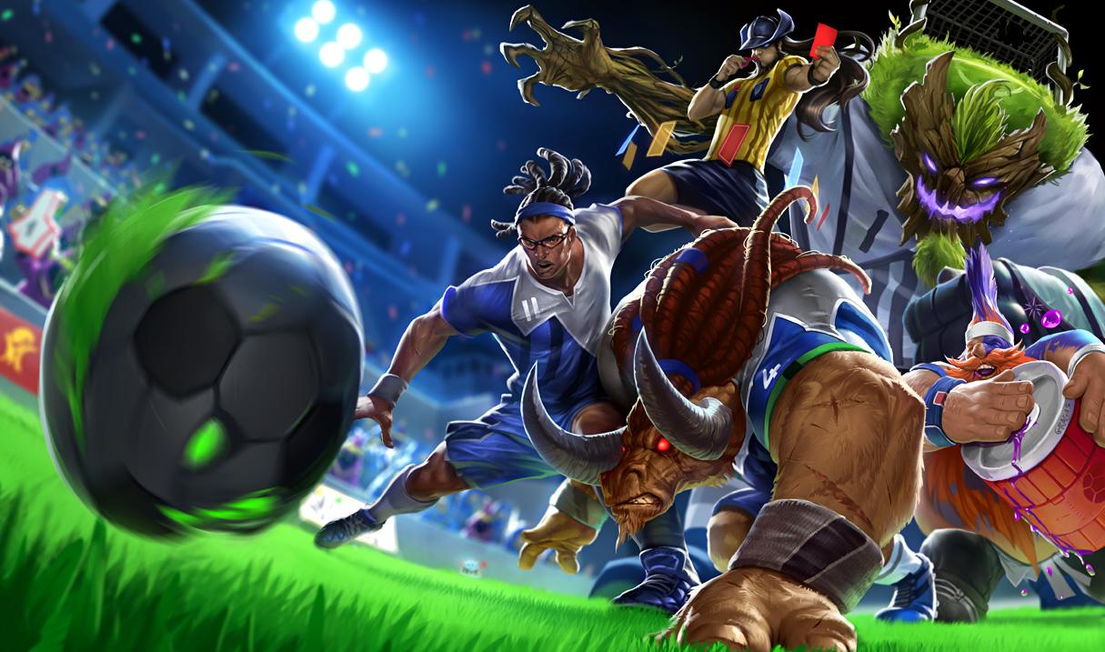 Kapus Maokai és az ő labdája