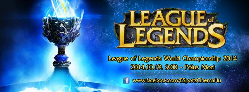 League of Legends vb-dőntő a Pólus moziban
