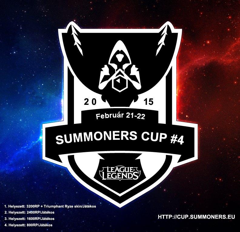 Versenyidő idézők – Summoners Cup #4