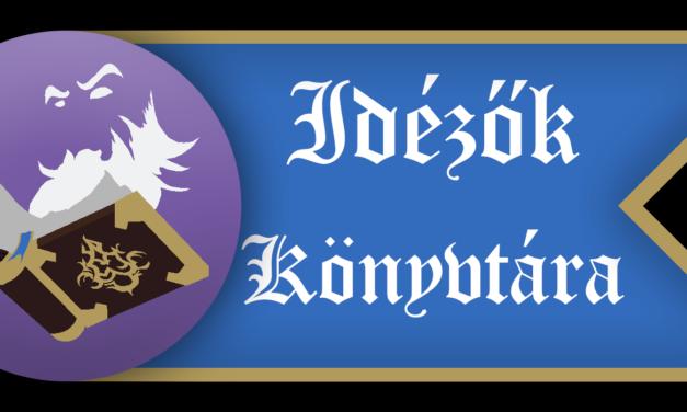 IDÉZŐK KÖNYVTÁRA IV. – INDUL A REGISZTRÁCIÓ