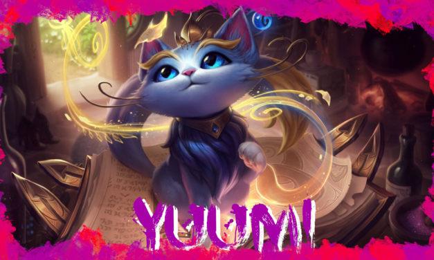 Yuumi, a varázsmacska