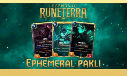 Runeterra – Hősök, lapok és egy erős kezdő pakli!