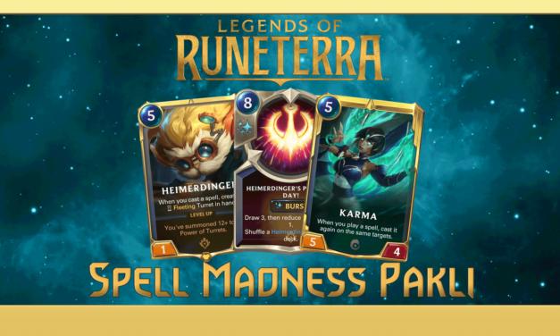 RUNETERRA – Karma, Heimer és egy erős spell deck!